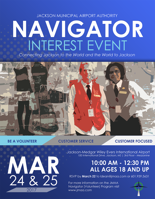 Jackson-Medgar Wiley Evers International Airport to Host Navigator Interest Event