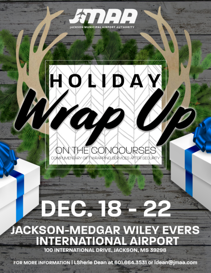 Press Release – JMAA Gift Wrapping for the Holidays
