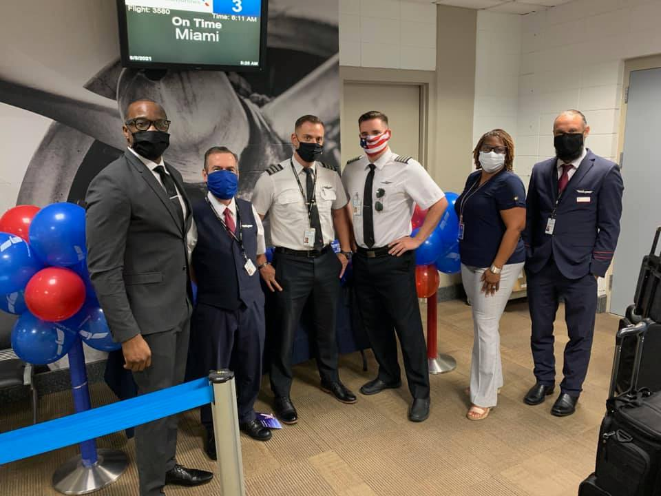 Jackson Municipal Airport Authority Welcomes American Airlines' New Seasonal Air Service to MIA