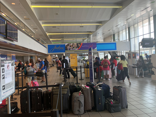 Labor Day Holiday Travel Begins at JAN; Arrive Two (2) Hours Early for Check-In